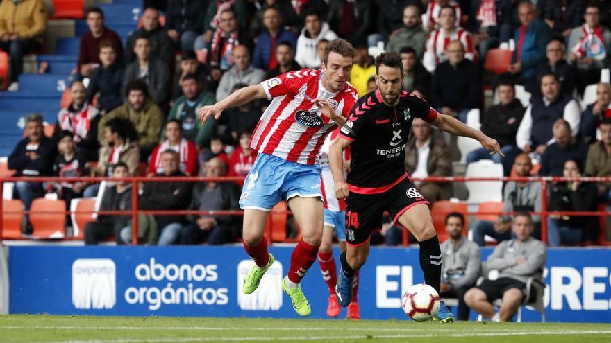 El Tenerife ganó en cinco de sus once visitas al Lugo