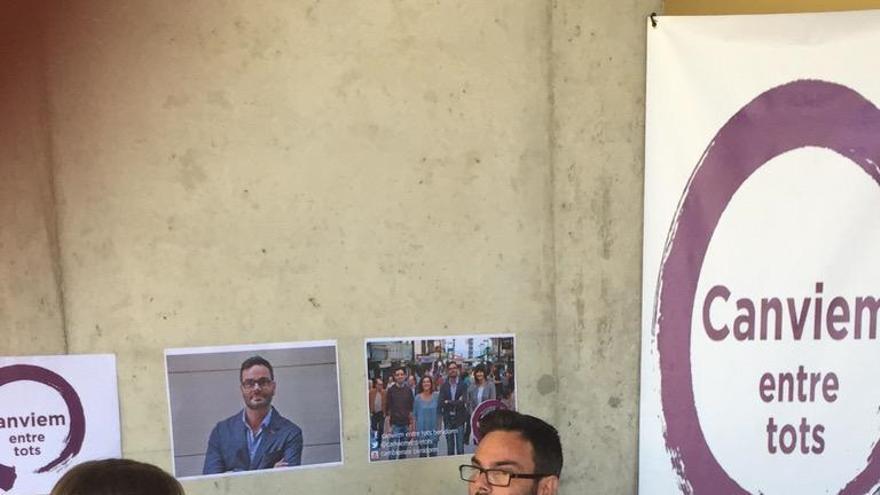 Javier Freijido, cabeza de lista de Canviem entre tots en Benidorm, en una entrevista / @canviembenidorm