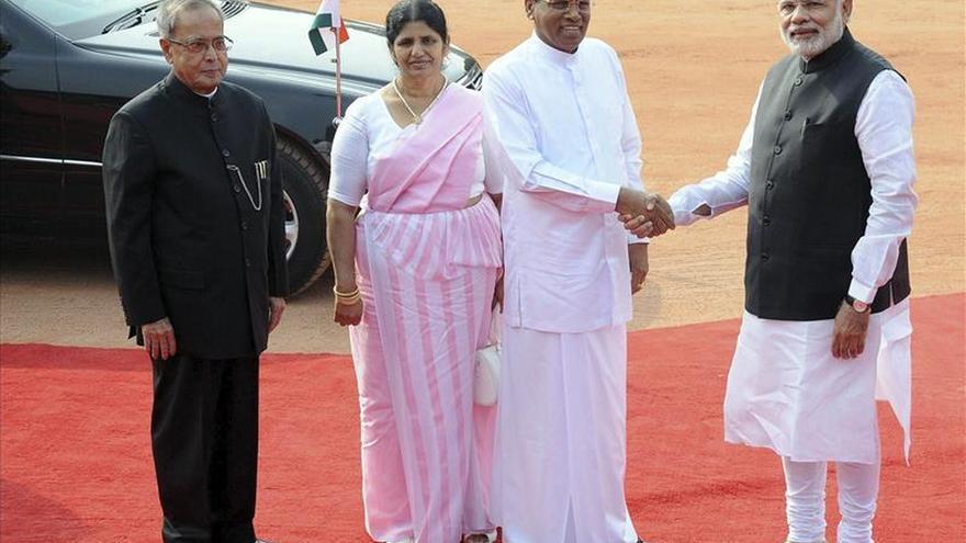 Sirisena se compromete a más cooperación con India en su primera visita exterior