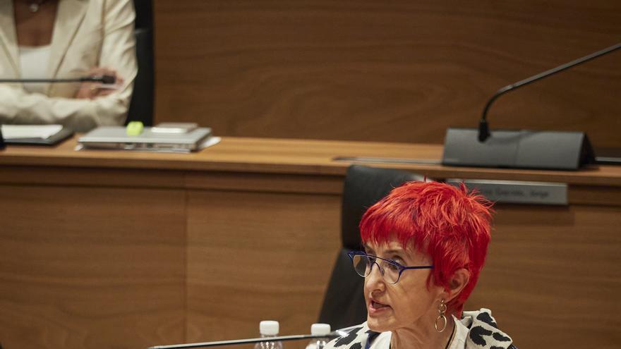 Archivo - La consejera de Salud del Gobierno de Navarra, Santos Induráin.