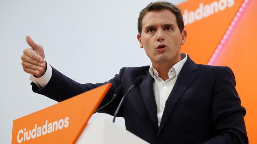 Albert Rivera se suma a las críticas de su número dos contra el líder de Vox