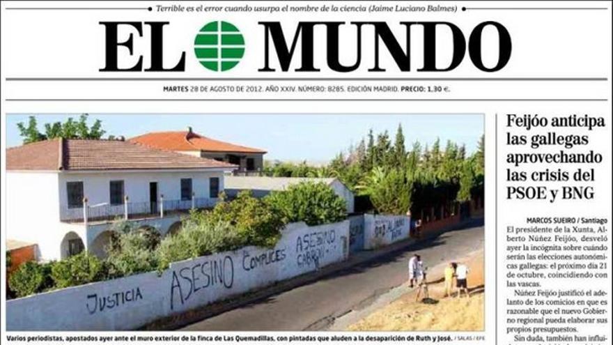 De las portadas del día (28/08/2012) #6