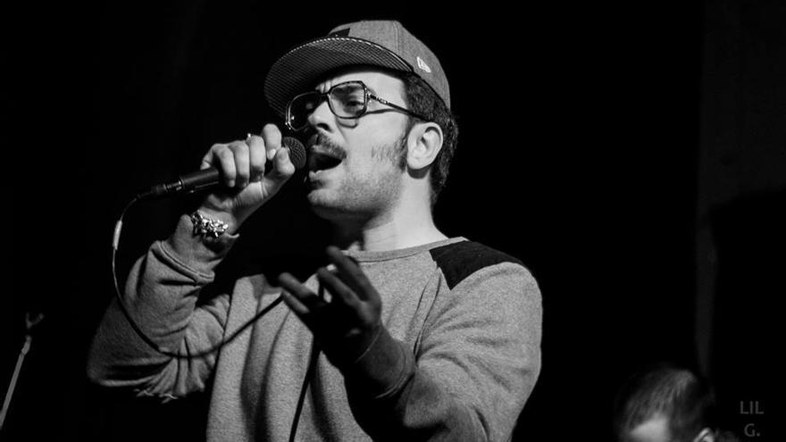 El músico Álex Garbanzo. | PABLO VALBUENA