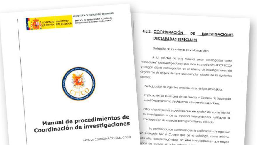 Manual de Procedimientos de Coordinación de Investigaciones del CITCO