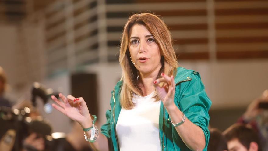 """Susana Díaz advierte de que quien vote a Cs es para """"que gobierne"""" el PP"""