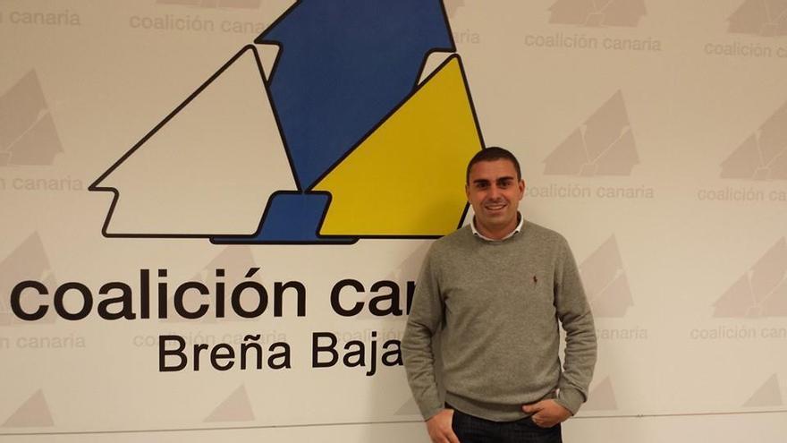 David Morales Felipe, candidato a la Alcaldía de Breña Baja por CC.
