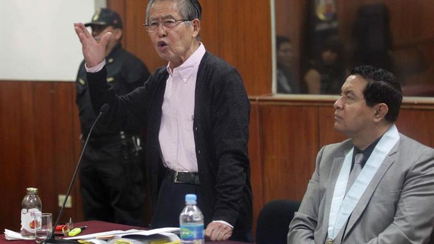 Abogado de Fujimori planea volver a pedir el indulto para el expresidente
