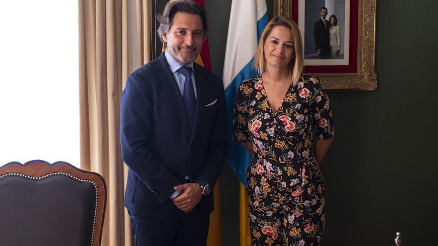 Gustavo Matos y Judit Bayarri.