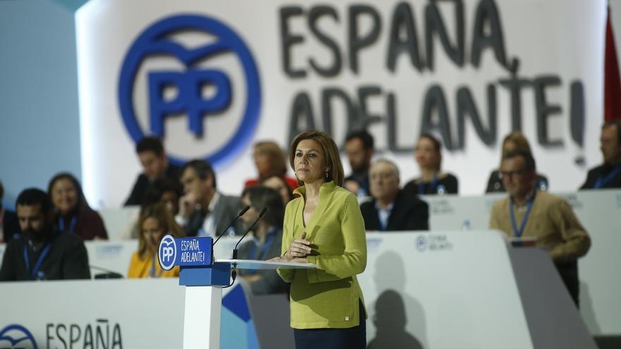 Cospedal recaba 4.106 avales que respaldan su candidatura a presidir el PP de Castilla-La Mancha