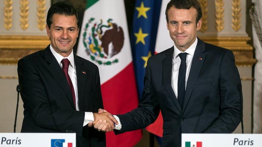 Peña Nieto y Macron certifican su conexión antes de la cumbre del G20