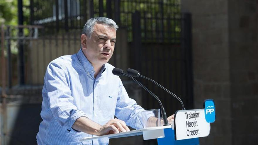 Javier de Andrés será nombrado esta tarde presidente del PP de Álava