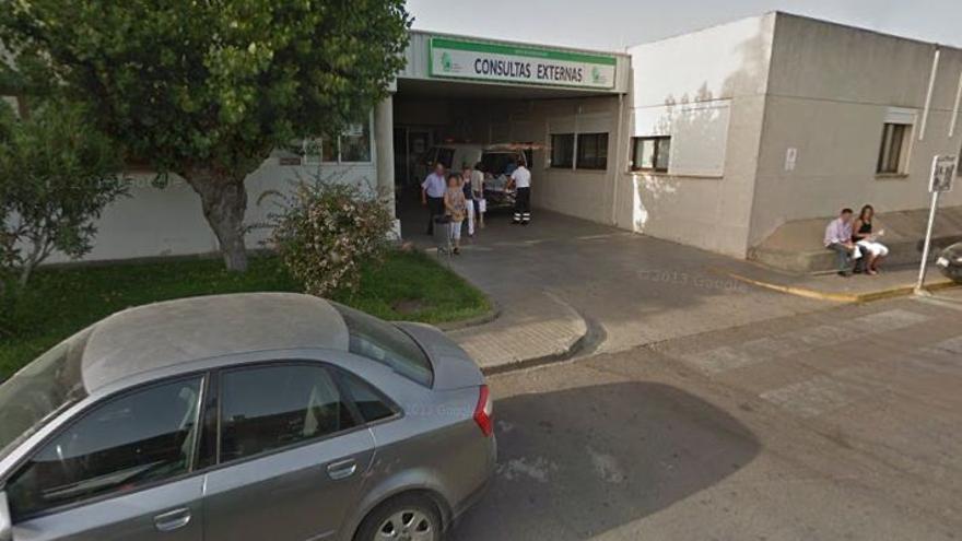 Entrada a las consultas del actual hospital Don Benito-Villanueva de la Serena