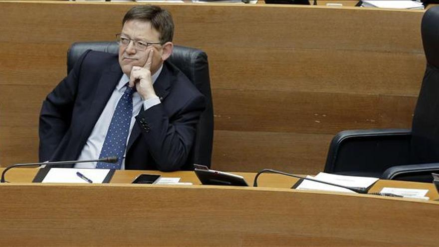 """Puig dice que la valenciana es """"la única comunidad pobre que paga como rica"""""""