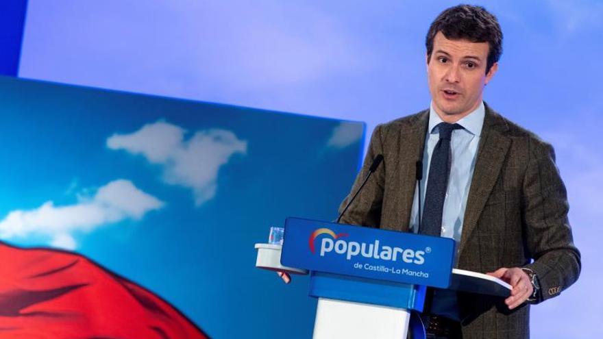 Casado reivindica al PP como el partido de la experiencia y las ideas claras