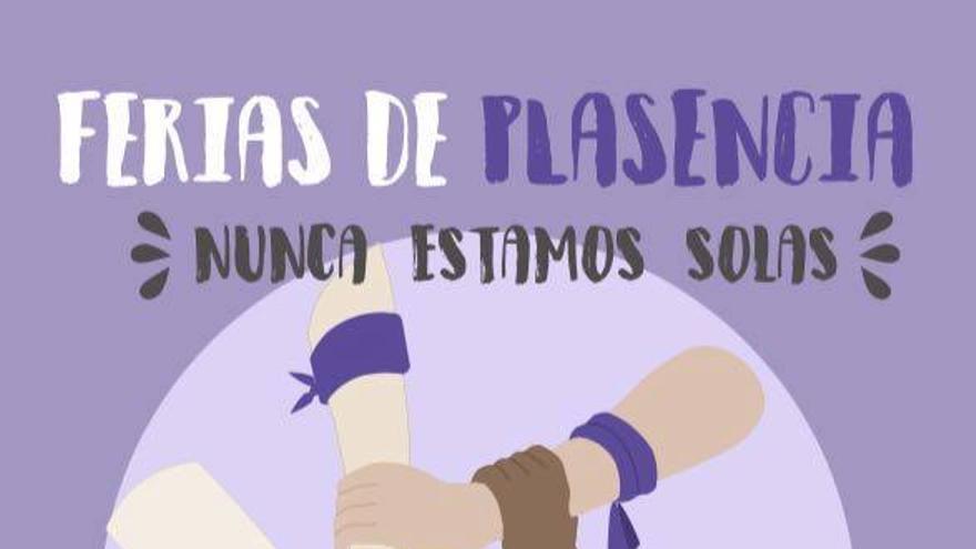 Campaña de brazaletes morados / Mujeres Libres de Extremadura