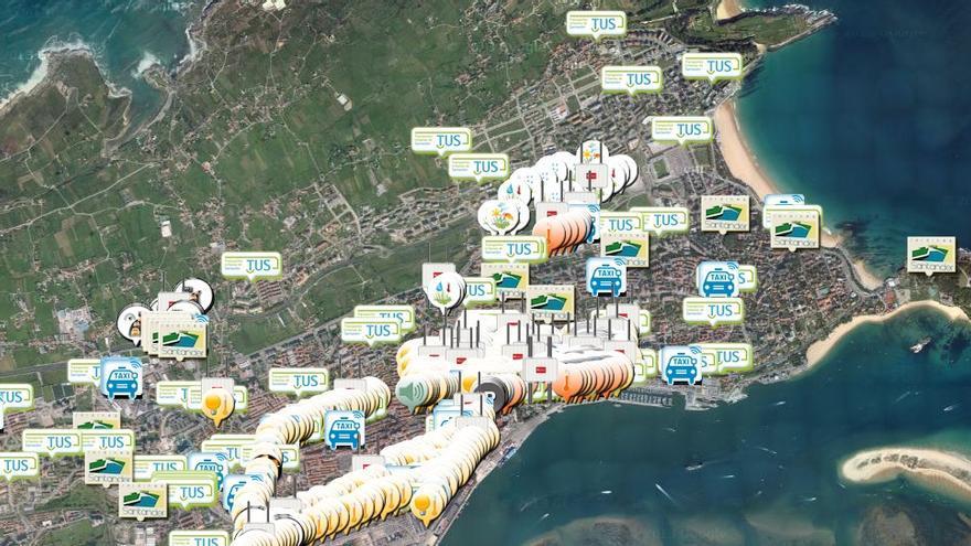Durante el proyecto SmartSantander se colocaron 25.000 sensores en el área urbana de Santander