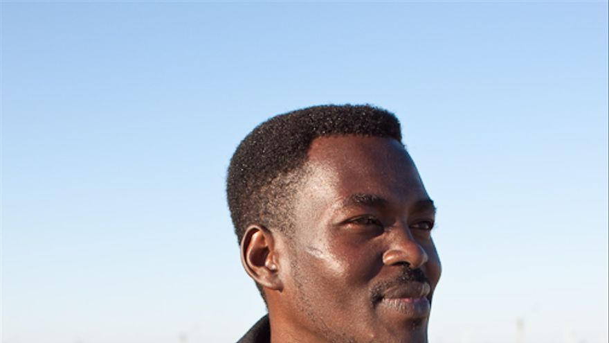 El sudanés Osman Mohammed Ali (Ali) llegó desde Darfur (Sudán) en 2012.   Foto: Isabel Cadenas Cañón.
