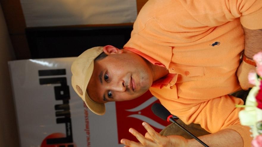 Rachid Nini, periodista marroquí encarcelado por sus críticos al gobierno y declarado preso de conciencia por Amnistía Internacional. Foto: Particular