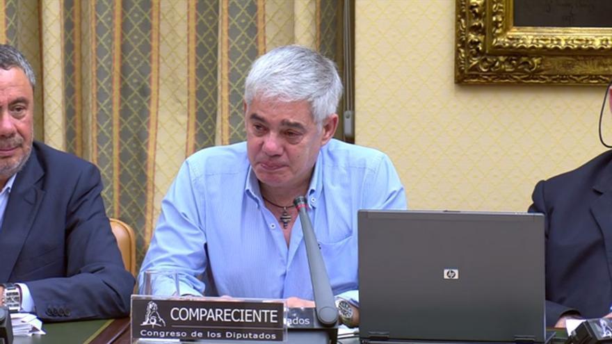 Francisco José Garzón, maquinista del Alvia, en su declaración en el Congreso de los Diputados