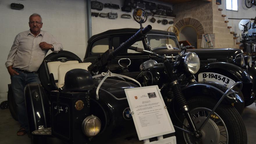 Pepe Moreno, con una BMW con sidecar | N.C.