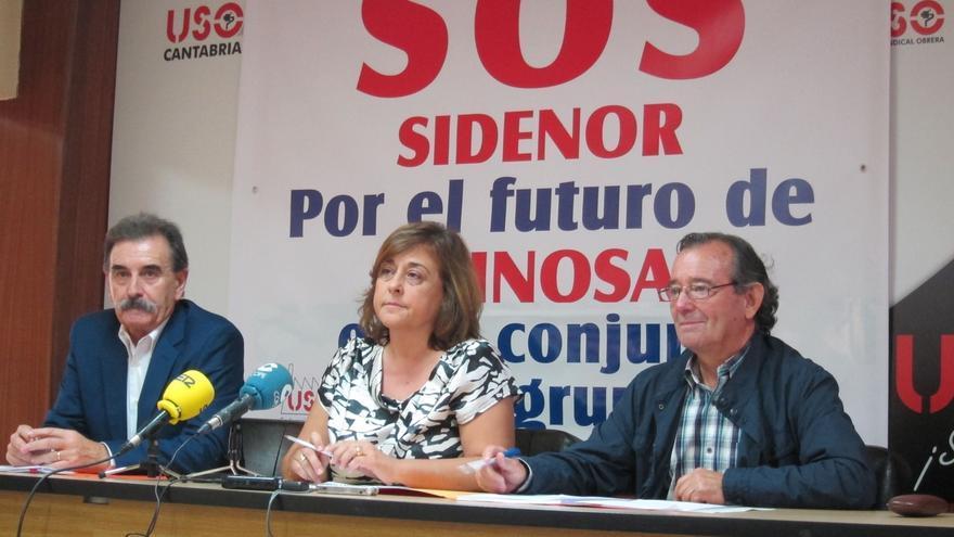 """USO lanza SOS ante el """"preocupante"""" futuro de Sidenor y la """"grave"""" situación en Reinosa, con la producción al 50%"""