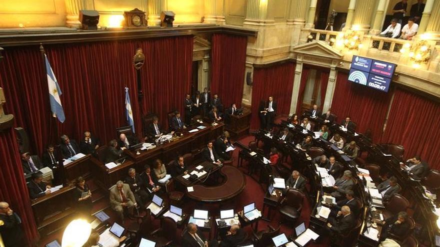 El Senado argentino aprueba un proyecto de obligatoriedad de debates presidenciales