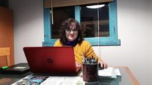 Yolanda García, portavoz de las Kellys de Benidorm y comarca.