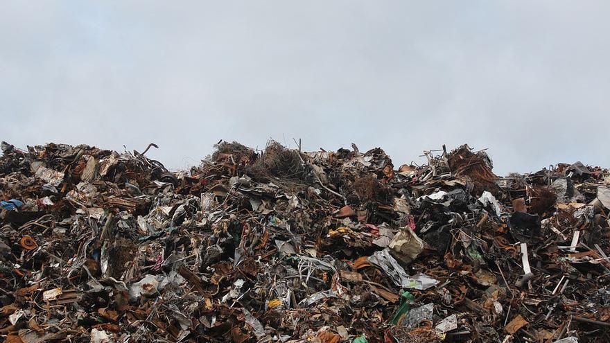 Montaña de residuos