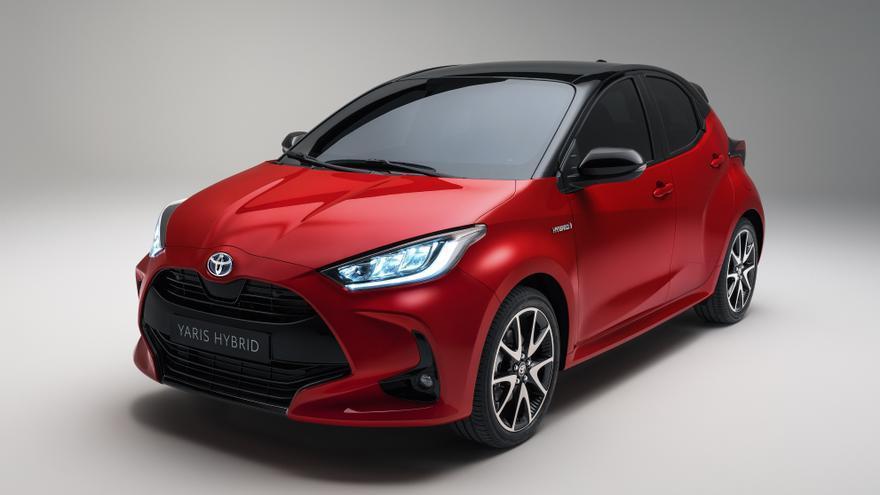 Cuarta generación del Toyota Yaris.