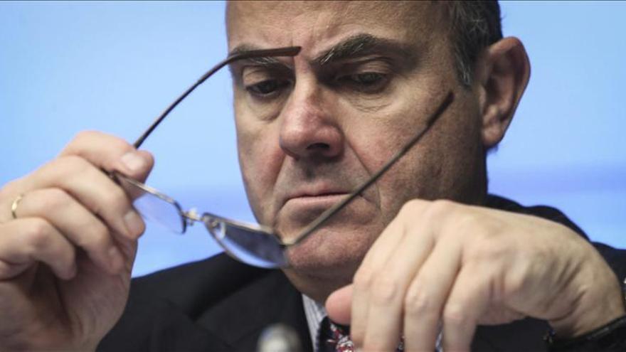 Guindos afirma que en Bruselas no se habla de Cataluña por ser una hipótesis no razonable