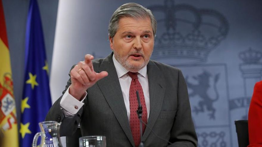 El ministro de Cultura, Educación y Deporte, Iñigo Méndez de Vigo