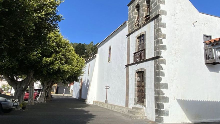 Iglesia de San Antonio Abad, en Fuencaliente.