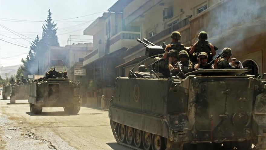 Mueren nueve yihadistas en combates en una región libanesa fronteriza con Siria