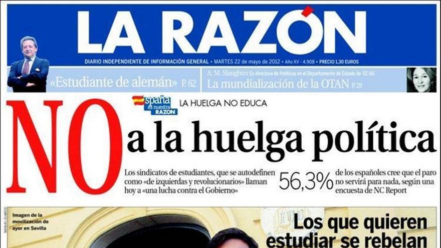 De las portadas del día (22/05/2012) #9