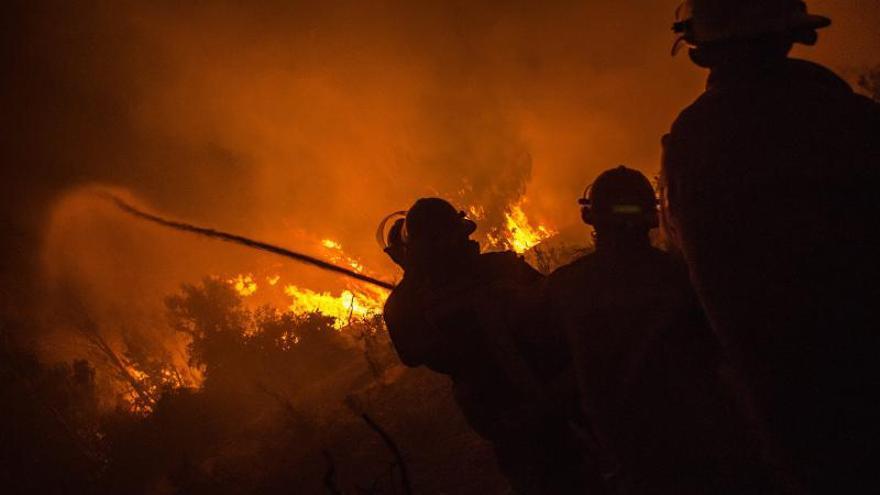 Un muerto y dos heridos deja un incendio forestal en el sur de Chile