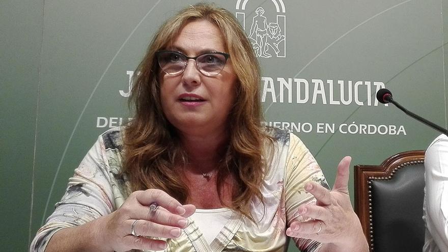 María de los Ángeles Luna, responsable de la delegación provincial de Salud.