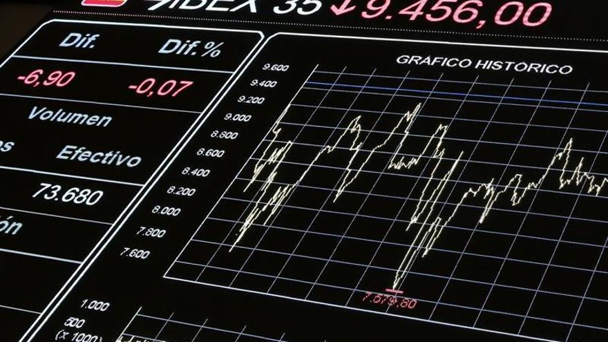 La Bolsa española baja un 0,16 por ciento tras la apertura