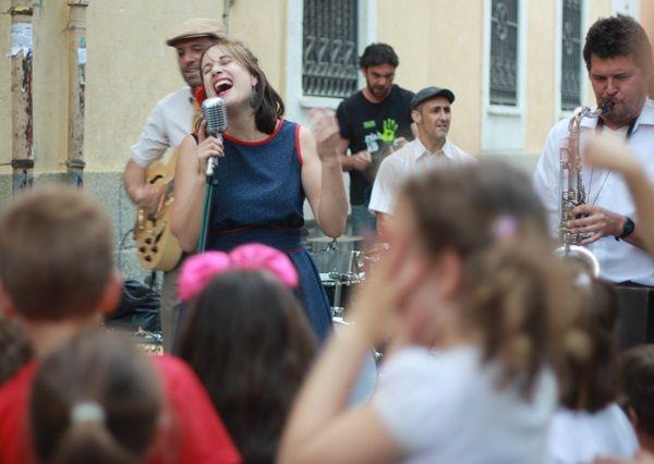 Un momento del concierto de Cromática Pistona | FOTOS: RAQUEL ANGULO