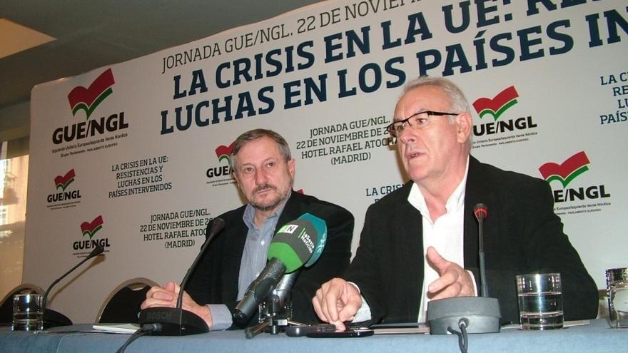 """IU avisa de que Rubalcaba quiere más poder en Europa para tener más comisarios """"que apoyen a la Troika"""""""