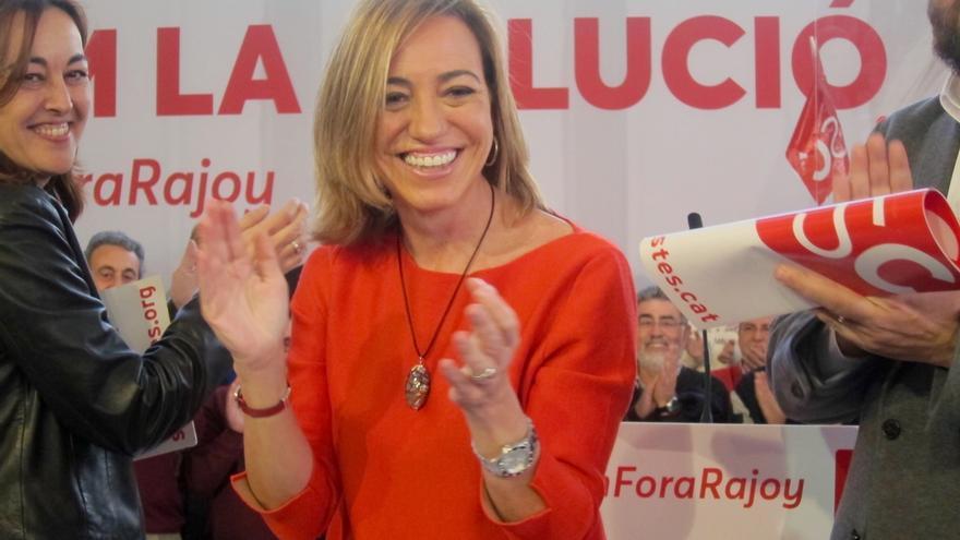 Chacón pide el voto a quienes apoyaron a JxSí para que el Estado tuviera que negociar
