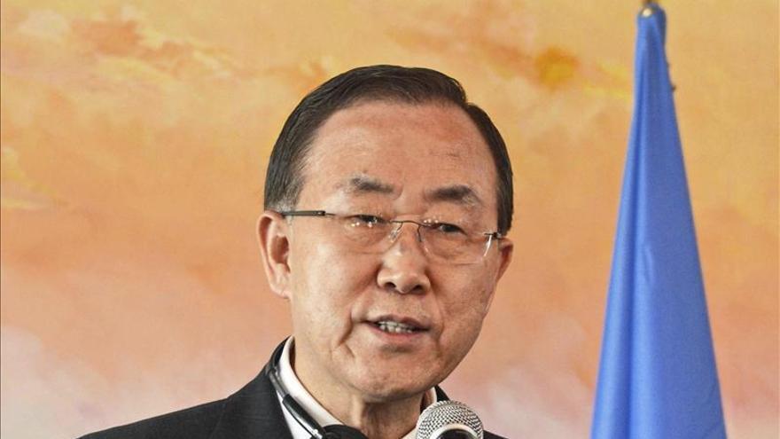 Ban Ki-moon sigue con los preparativos de la Conferencia de Ginebra sobre Siria