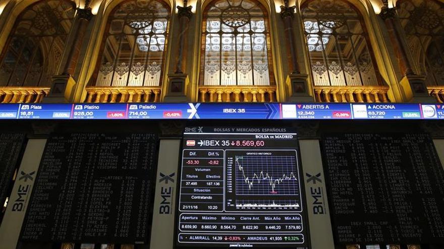 La Bolsa española repunta un 0,34 por ciento tras la apertura