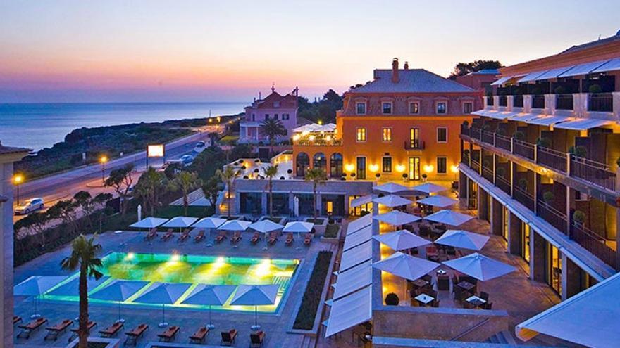 Hotel en el que se alojaron los consejeros de Caja Madrid en Cascais / Foto: Hotel Real Villa Italia