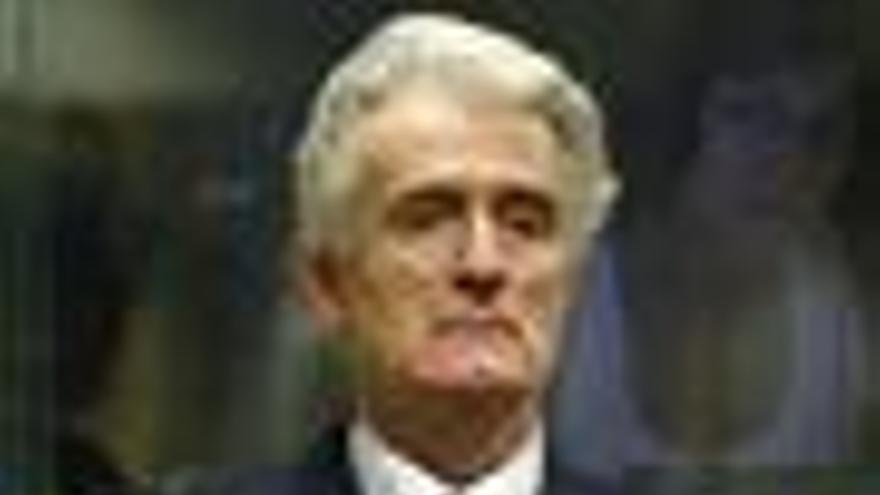 Karadzic asistirá finalmente hoy a su juicio ante el TPIY