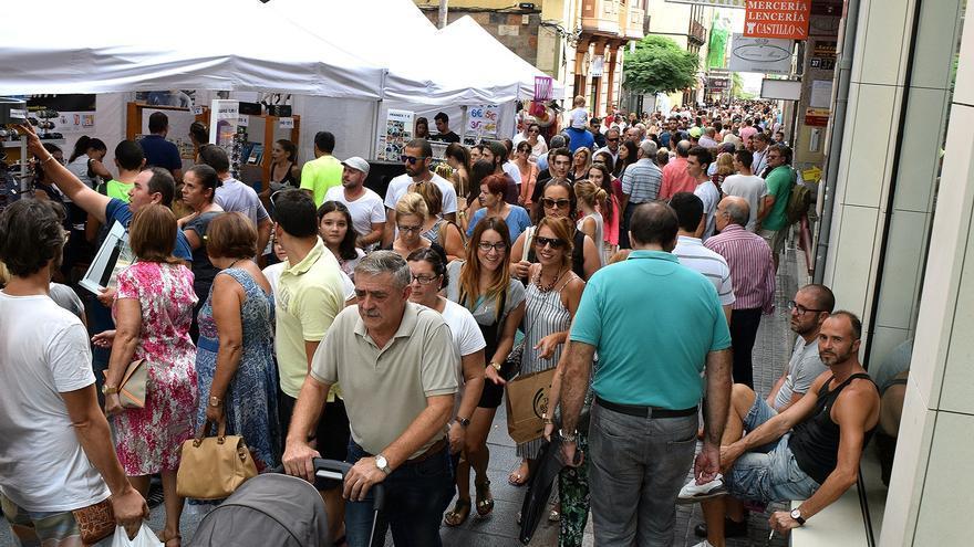 Calle del Castillo este domingo en 'Santa Cruz Sal2'