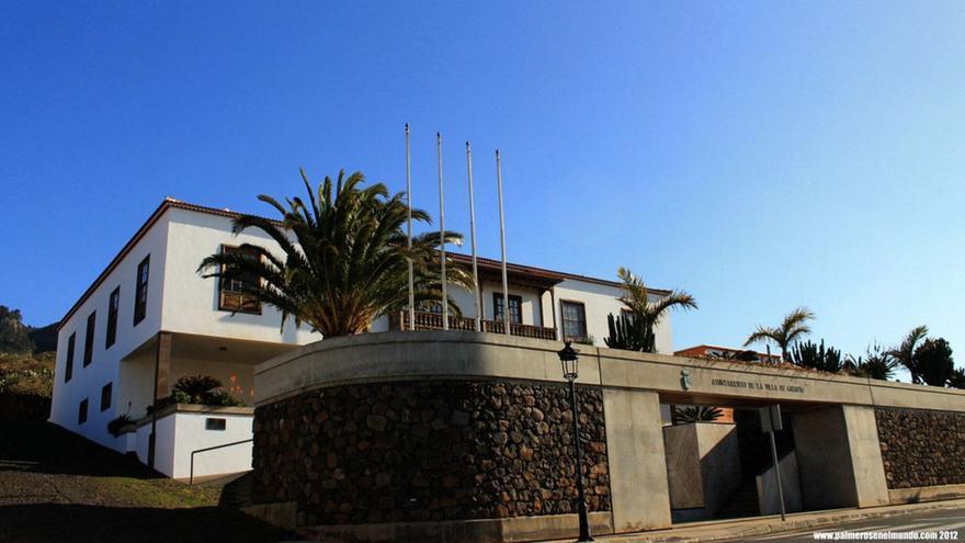 Ayuntamiento de la Villa de Garafía. Foto: palmerosenelmundo.com