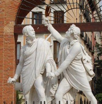 Así quedará definitivamente el monumento de Daoíz y Velarde