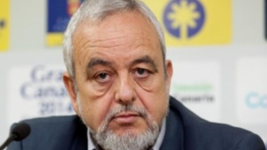 Agustín Medina, presidente del CB Gran Canaria. (QUIQUE CURBELO)