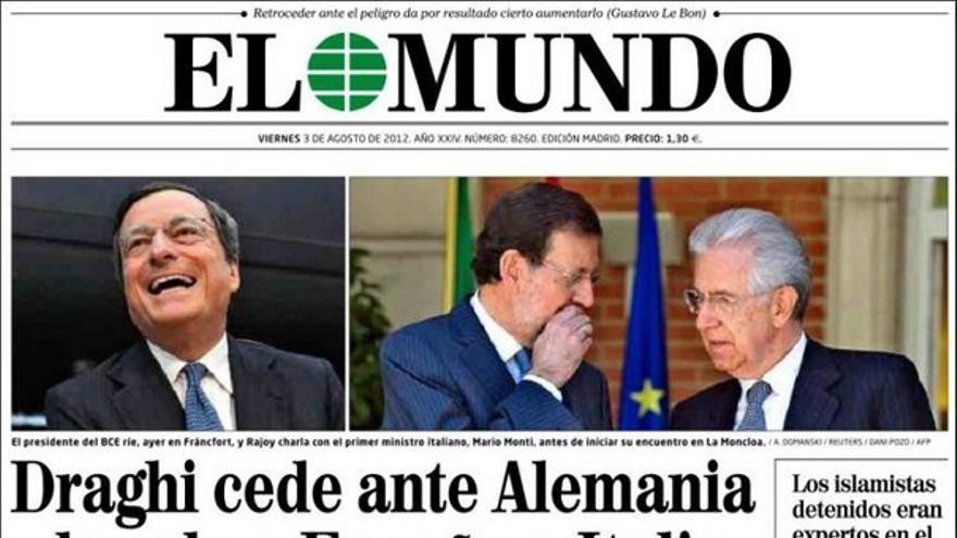 De las portadas del día (03/08/2012) #8