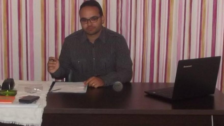 Jafet Barreto, portavoz de Unión Progreso y Democracia (UPyD) en Los Llanos de Aridane.
